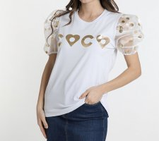 0039 Italy T-shirt wit