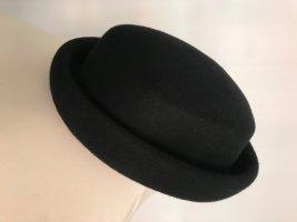 Cappello in feltro nero Tessuto misto
