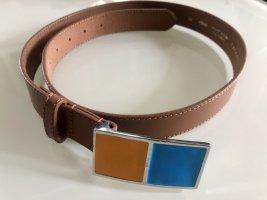 Stefanel Leather Belt multicolored