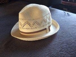 H&M Cappello di paglia bianco sporco