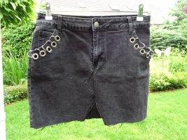 Glamorous Denim Skirt dark grey
