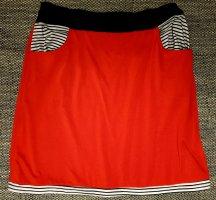 Falda de patinador multicolor