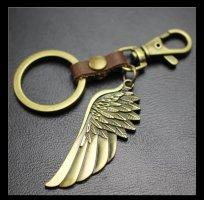 Sleutelhanger goud-bruin
