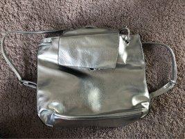 HM Zaino laptop argento