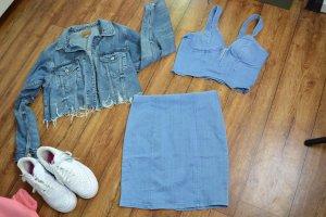 Cooles Jeans Denim Set Gr. 38 von Fashion Nova