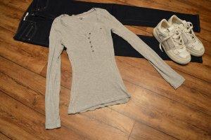 Cooles Rippenshirt langarm Gr. 36/38 Tommy Jeans