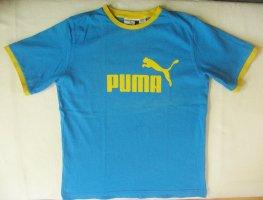 Puma Sportshirt korenblauw-azuur Katoen