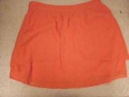 Cache & Cache Spódnica z falbanami jasnoczerwony