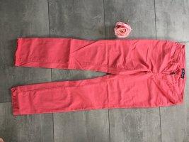 Coralfarbene skinny Jeans von Arizona