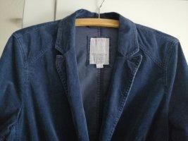 Cord Blazer Blau