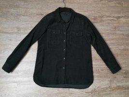 Amisu Cord Jacket dark green-forest green