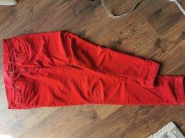 Esprit Pantalón de pana rojo