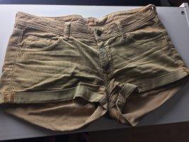 H&M Pantalon en velours côtelé marron clair