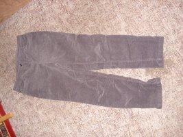 Canada Goose Pantalon en velours côtelé brun foncé coton