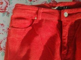 Pantalon taille basse rouge