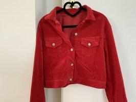 Brandy & Melville Veste oversize rouge