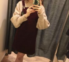 Aygill's Mini Dress bordeaux