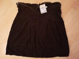 C&A Jupe asymétrique brun foncé-brun