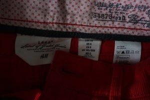 H&M L.O.G.G. Jupe cargo rouge-magenta