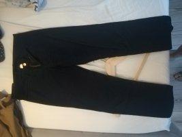 H&M Pantalone di velluto a coste blu scuro