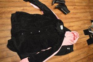 Corduroy Overshirt Jacket schwarz Nakd 38/40