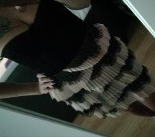 H&M Corsage Dress black-pink