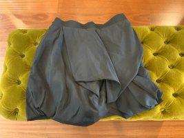 COS Falda globo azul oscuro modal