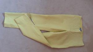 COS Spodnie 7/8 żółty neonowy