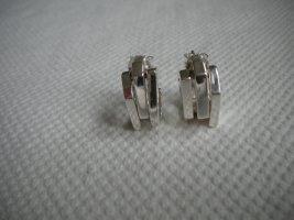 COS Oorbellen zilver Metaal