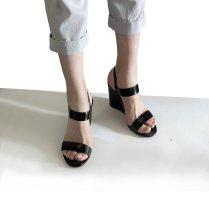 COS Sandalen aus Leder