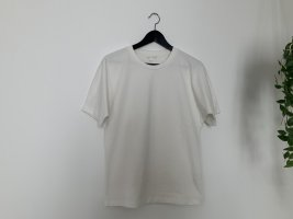 COS - weißes T-Shirt mit Kimonoärmel