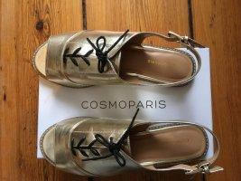 Cosmoparis Sandaletten Gold in 41