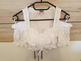 Country Line Vestido Dirndl blanco