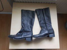 Country Stiefel schwarz mit Absatz