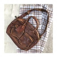"Cowboysbag ""The College Bag"" Tasche Leder Braun"
