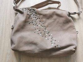 Cowboysbag Umhängetasche Tasche beige Nieten *NEU*