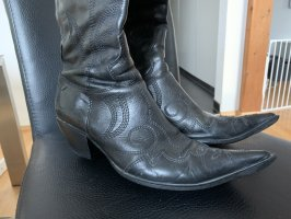 Buty w stylu western czarny