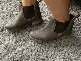 Cox Ankle Boots dark green-khaki