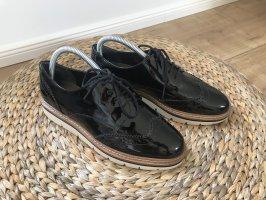Cox Sznurowane buty czarny-biały