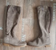 Cox Stretch Boots light grey-grey suede