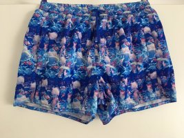 Crazy colorful printed Badehose