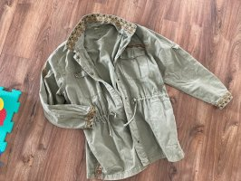 Cream Military Jacket khaki