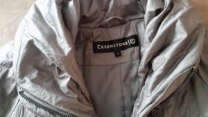 Creenstone Down Coat oatmeal cotton