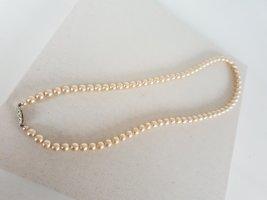 Modeschmuck Collana di perle beige chiaro