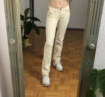 Versace Jeans Couture Boot Cut Jeans cream