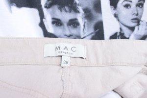 Mac Jeansy 7/8 w kolorze białej wełny Bawełna