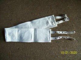 Waist Belt natural white imitation leather