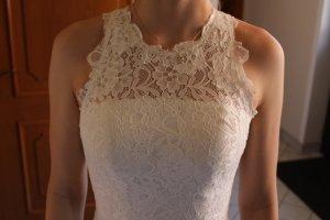 cremeweißes Ballkleid / Hochzeitskleid