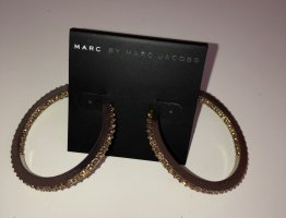 Marc by Marc Jacobs Ear Hoops gold-colored metal