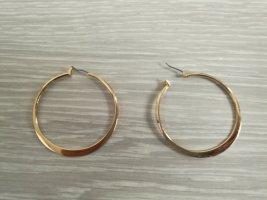 Bijou Brigitte Ear Hoops gold-colored metal